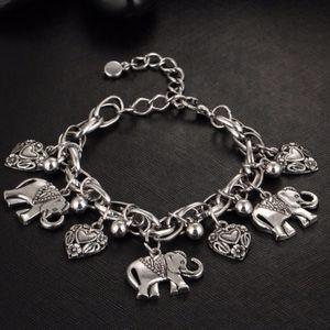 Jewelry - NEW! Elephant Charm Bracelets GOLD AND SILVER!